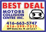 Best Deal MotorsCollision Centre Inc.