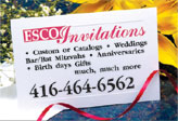 ESCO Invitations