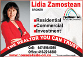 Lidia Zamostean - Sales Representative